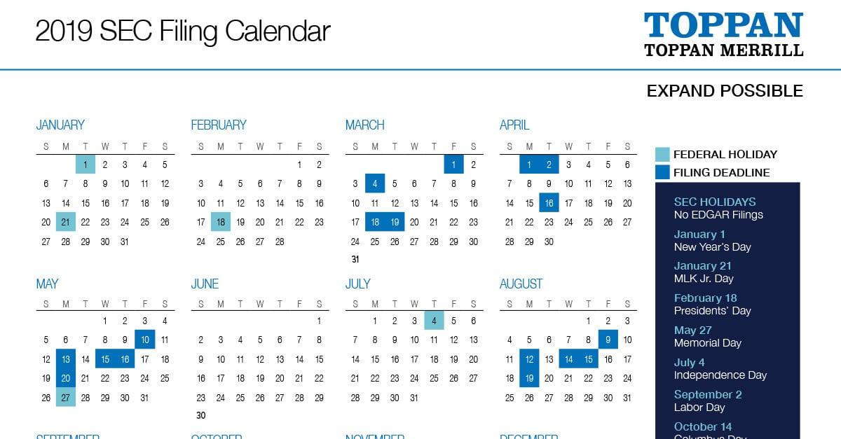 04_2019-SEC-Filing-Calendar